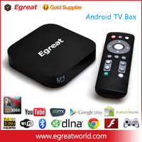 EGREAT Android TV Box tv live streaming media player wifi 1080p