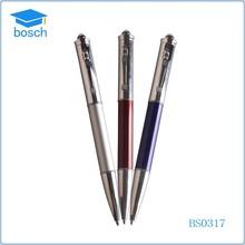2015 customised pen led light ball point pen promotional pen with led light