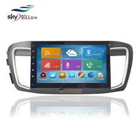 Wholesale 1024x600 HD Android 4.2.2 10.2 inch Capacitive Screen GPS Navigation for Honda Accord 2009