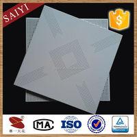 Heat Resistant Suspended Perforated Aluminum Ceiling Tiles