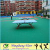 Factory price protable outdoor table tennis court flooring
