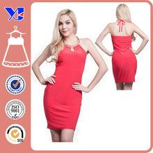 Latest dress designs Korea Casual New Fashion Lady/ Ladies/ Women dress 2015 Simple Sleeveless Backless Sexy Summer Dress 2015
