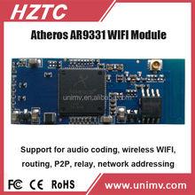 WIFI x10 plc h.264 cmos ip camera module car wifi router