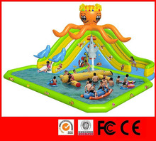 Summer big discount giant inflatable water slide for adult inflatable bouncy sports