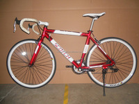 2015 new model aluminum 700C 14S RACING bike fixie bicycle for sale MSD-F129 WITH caliper brake ox horn handle