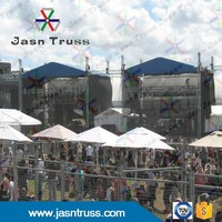 MOBILE TRUSS /ALUMINUM EXHIBISH LIGHTING TRUSS /DISPLAY TRUSS AND STAGE WITH ROOF TURSS