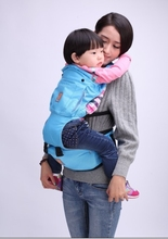 2015 hot sell Organic Cotton fashion baby carrier travel cotton baby sling carriers