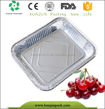 china cheap low price aluminum foil food container on sale