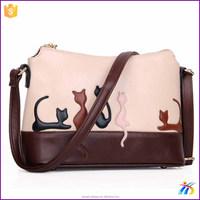 Handbag With Cat Design