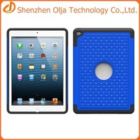 For ipad 6 case made in China,shockproof tablet case for ipad 6,wholesale silicon case for apple ipad air 2