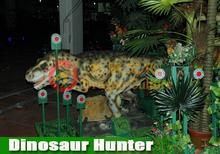 Aliens Paradise Amusement shooting on dinosaur arcade game machine
