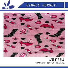 children design printed spandex single jersey