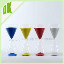 A great display piece, conversation piece, decorating piece, etc .... wholesale custom 1 minute glass sand timer