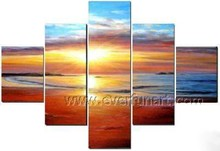 New style sea wave oil painting seascape art painting for home decor