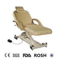 hot sale Beauty adjustable power lift spa salon EAD electric massage table