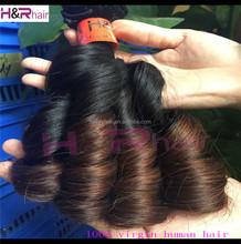 Guangzhou new arrival high quality 10-30inch 8a grade Brazilian aunty funmi hair bouncy curl