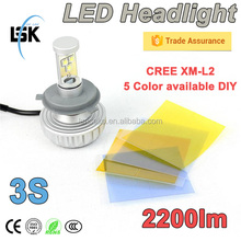 Factory wholesales top quality high power led conversion kit 9006 5 color available