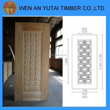 3.0mm Natural Veneer MDF HDF Mould Door Skin internal doors