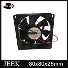 DC fan 80x80x25mm axial flow cooling vest with fan