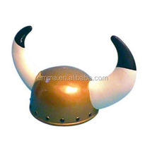 Crazy cheap viking helmet with horns halloween party hat with horns for costume accessory HT4324