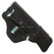 Factory outlet black genuine leather gun holster for XDM