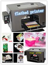 digital multi-function flatbed printer for T-shirt, Golf ball, CD, Card, Pen Printing