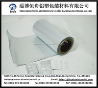 Compound laminated pharmaceutical cold forming foil for capsule packing