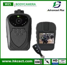 Turkish and Russian Menu 2015 Hot Sale 1080p WZ5 Body Worn Police Camera