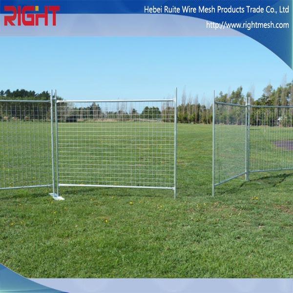 Portable Steel Fencing : New product portable temporary fence dog