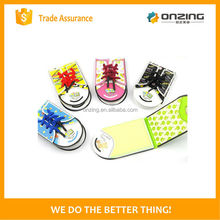Onzing good quality cat shaped sticky notes/ phone shaped memo pad