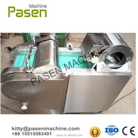 Industrial vegetable and fruit cutting machine