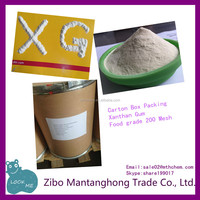 xanthan gum used for bread making additive