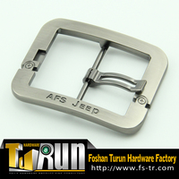 Wholesale simple design canvas belt buckle clip buckle