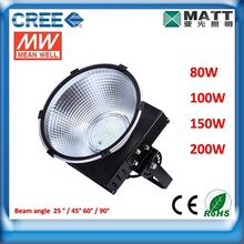 High Quality & New Design CREE LED industrial high bay light,high bay LED Light,150W LED high bay light