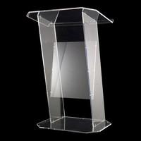 профессиональный дизайн высокого качества современный дизайн высокое lucency большие акриловые аналой/подиум