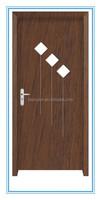 promotion good sale interior wood toilet pvc door, pvc wooden door
