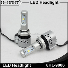 2016 Newest H1 H3 H8 H9 H11 H16 9005 9006 H4 H13 9004 9007 auto led headlight bulb, 6000lm car led headlight from U-light