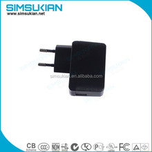 plug-in ce fcc ul approved usb power adapter 9v 500ma