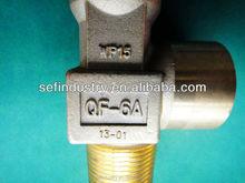 2015 Low Price SEFIC Brand High Pressure Seamless Brass Gas Cylinder Valve