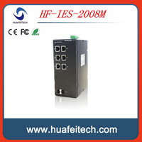 Industrial Ethernet solutions Managed 8 ports