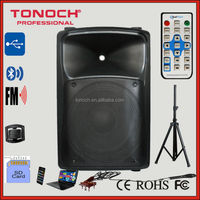 manufacturer CE, RoHS, ISO 9001 , ISO 14001,ohsa18001, 15 inch acoustic professional speakers bluetooth speaker