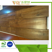 Walnut Hardwood Flooring, made in Shanghai
