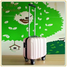 Frosted Surface Women's Trolley Luggage, Ladies Computer Suitcase, Laptop Bag For Women
