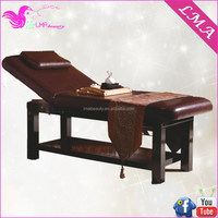 New style promotional wooden beauty salon facial table de massage useds MD104