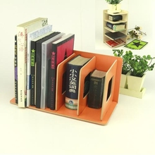 Orange Bookend for Office Use Home Use