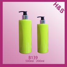 500ml 200ml PET bottle with pump sprayer empty plastic pet bottle made in China