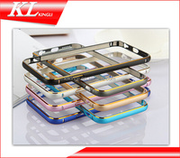 15-16 Hot selling cell phone case Aluminum Metal Bumper frame Case for Iphone 6