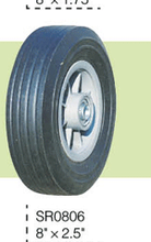 Solid Rubber Wheels For Wheelbarrow Made In China Various Solid rubber wheel