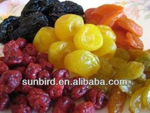 types of dried fruits(dried strawberries,dried apple,dried prune etc.)