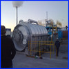 China manufacturer automatically waste tyre pyrolysis plant, tyre oil refining machine, tire recycling machine
